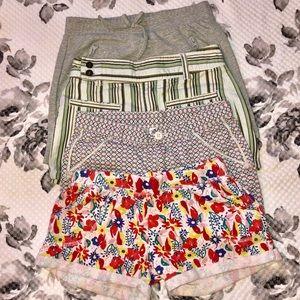 Girls size 7-8 mixed brand shorts bundle
